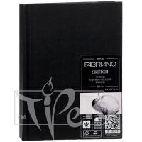 19100002 Альбом для эскизов Sketch Book А4 (21х29,7 см) 110 г/м.кв. 80 листов в переплете по длинной стороне Fabriano Италия