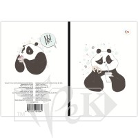 Блокнот «Funny series» panda and cake В6 (125х176 мм) 70 г/м.кв. 80 листов склейка Profiplan