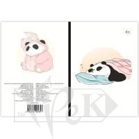 Блокнот «Funny series» panda is sleeping В6 (125х176 мм) 70 г/м.кв. 80 листов склейка Profiplan