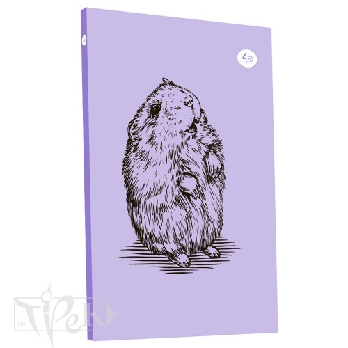 Блокнот «Animal note» hamster В6 (125х176 мм) 70 г/м.кв. 80 листов склейка Profiplan