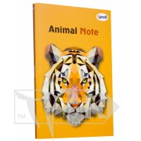 Блокнот «Animal note» orange А5 (14,8х21 см) 70 г/м.кв. 80 листов склейка Profiplan