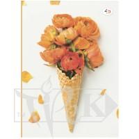 Блокнот «Color of mood» orange В6 (125х176 мм) 70 г/м.кв. 80 листов склейка Profiplan