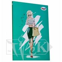 Блокнот «Fashion» belle А5 (14,8х21 см) 70 г/м.кв. 80 листов склейка Profiplan