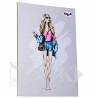 Блокнот «Fashion» promenade А5 (14,8х21 см) 70 г/м.кв. 80 листов склейка Profiplan