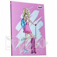 Блокнот «Fashion» voyage А5 (14,8х21 см) 70 г/м.кв. 80 листов склейка Profiplan