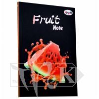 Блокнот «Frutti note» red А5 (14,8х21 см) 70 г/м.кв. 80 листов склейка Profiplan