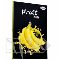 Блокнот «Frutti note» yellow А5 (14,8х21 см) 70 г/м.кв. 80 листов склейка Profiplan