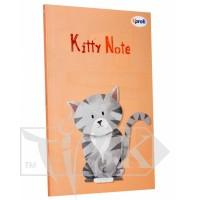Блокнот «Kitty note» light pink В6 (125х176 мм) 70 г/м.кв. 80 листов склейка Profiplan