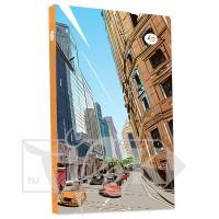Блокнот «Streets note» orange А5 (14,8х21 см) 80 г/м.кв. 160 листов в книжном переплете Profiplan