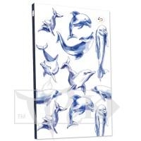 Блокнот «Two in one» blue А5 (14,8х21 см) 70 г/м.кв. 160 листов в книжном переплете Profiplan