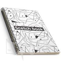 Блокнот «Creamy sketch book» four А5 (14,8х21 см) 160 г/м.кв. 128 листов на спирали Profiplan