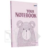 Блокнот «Artbook» light pink А5 (14,8х21 см) 80 г/м.кв. 128 листов склейка Profiplan