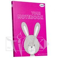 Блокнот «Artbook» lilac А5 (14,8х21 см) 80 г/м.кв. 128 листов склейка Profiplan