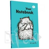 Блокнот «Artbook» mint А5 (14,8х21 см) 80 г/м.кв. 128 листов склейка Profiplan