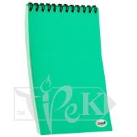 Блокнот «Color note» green А5 (14,8х21 см) 70 г/м.кв. 80 листов на спирали Profiplan