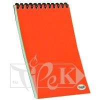 Блокнот «Color note» red А4 (21х29,7 см) 70 г/м.кв. 128 листов на спирали Profiplan