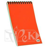 Блокнот «Color note» red А5 (14,8х21 см) 70 г/м.кв. 80 листов на спирали Profiplan