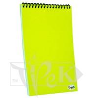 Блокнот «Color note» yellow А4 (21х29,7 см) 70 г/м.кв. 128 листов на спирали Profiplan