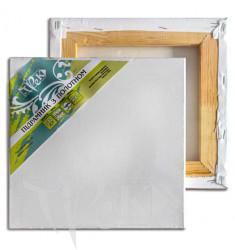 Подрамник с холстом упакованный белый хлопок (Италия) подвернутый 100х100 Планка 40х17 «Трек» Украина