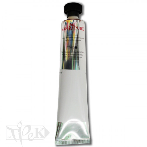 Масляная краска 200 мл 043 белила титаново-цинковые Van Pure