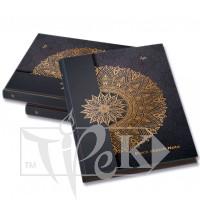Блокнот «Black notebook» А5 (14,8х21 см) 80 г/м.кв. 128 листов в книжном переплете Profiplan