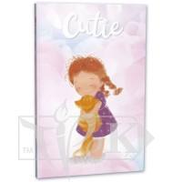 Блокнот «Cutie» four В6 (125х176 мм) 80 г/м.кв. 128 листов склейка Profiplan