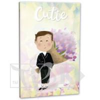 Блокнот «Cutie» one В6 (125х176 мм) 80 г/м.кв. 128 листов склейка Profiplan