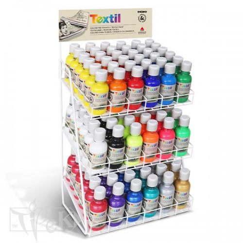 Стенд для фарб по текстилю, 108 шт. Primo Італія
