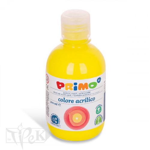 Акрилова фарба 300 мл 210 флуоресцентний жовтий Primo Італія